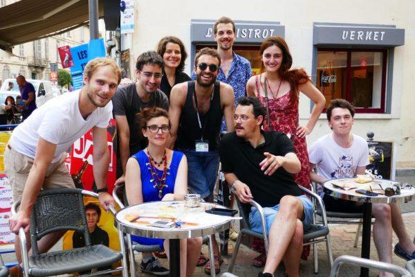Avignon 2016 - équipe Radios Campus!